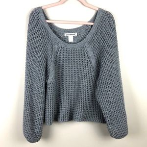 COTTON EMPORIUM Gray Knit Sweater